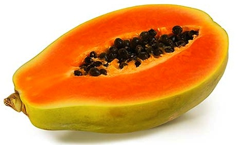 Papaya. Great Bolivian Fruit. Will not, however, fit in your pocket.