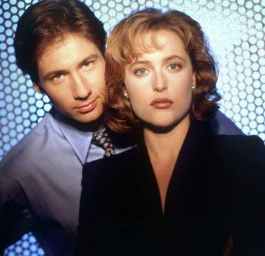 Mulder and Scully decide to trustno1
